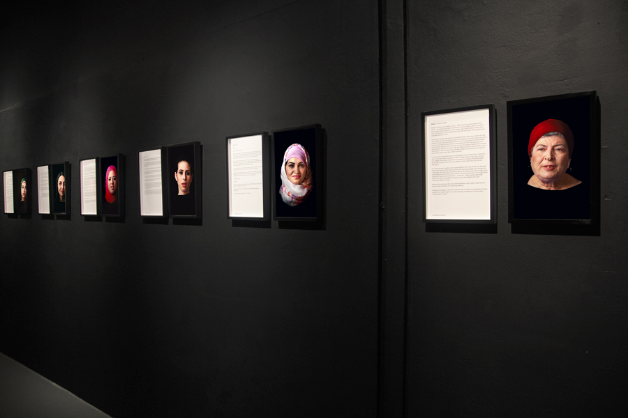 Cairo Stories, installation view